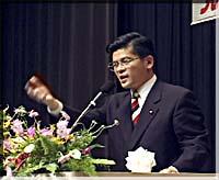 石井公明党県本部代表