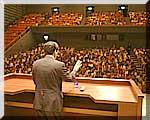 神栖町文化センターでの時局講演会