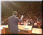 取手市民会館での時局講演会
