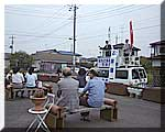 利根町での街頭演説