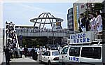 土浦駅での街頭遊説