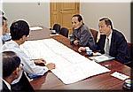 龍ヶ崎土木事務所で県道整備の要望を行う