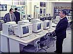 北茨城市内の公立中学校のパソコン教室