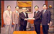 橋本昌知事と公明党茨城県本部が政策協定