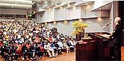 翔洋学園高校の入学式