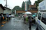 美和村での街頭遊説