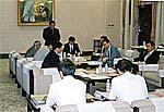 大阪府庁でのヒアリング