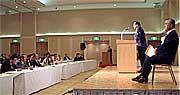 茨城県知事選挙橋本昌合同選対会議