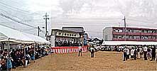 東海村村長選挙出陣式