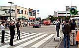 日立駅前での街頭遊説