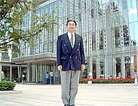 太田市役所前で井手県議