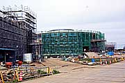 建設中のオフサイトセンター