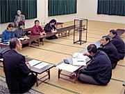 竜ヶ崎市党員会に出席