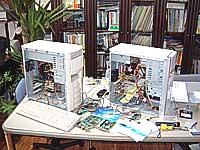 パソコン復旧作業