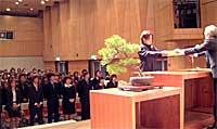 翔洋学園高校卒業式