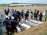 久慈川水系防災訓練