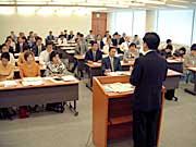 石井啓一県代表(衆議院議員)を中心に開催された県本部議員総会