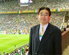 ドイツVSアイルランドを観戦
