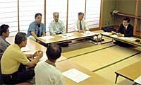 日本加工製紙離職者ヒアリング:高萩市総合福祉会館