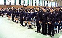 多賀高校卒業式