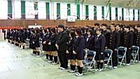 県立多賀高校入学式