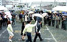 樫村千秋日立市長候補は無投票当選