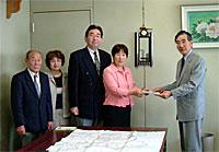 小川町県道の学校通学路の安全確保について要望書提出