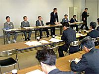 北海道立札幌国際情報高校を視察