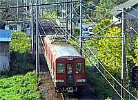 日立電鉄大橋駅付近(2003年秋)