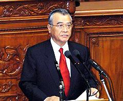 神崎武法公明党代表の代表質問