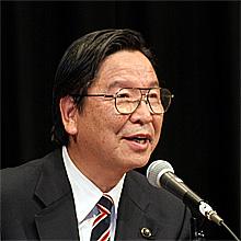 足立寛作県機関紙推進委員長(県議)