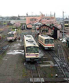 鹿島鉄道の始発・石岡駅
