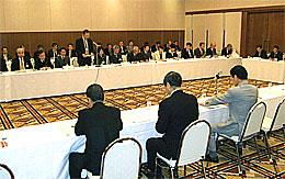 県北地域の選出県議会議員と県出先機関の長との懇談会