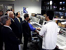 ケーブルメディア四国の編集室