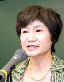 筑波選挙区から県議選への擁立が決まった田村けい子さん