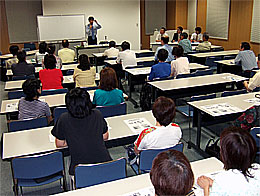 高萩市での県政懇談会
