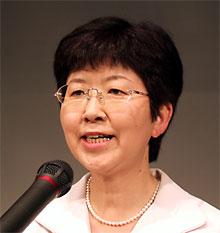 新人の女性候補・添田絹代さん