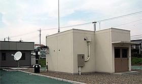 高崎市内の放射性核種観測所