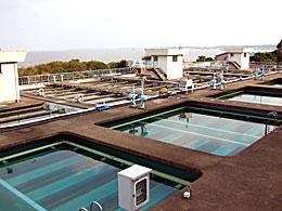 県南水道浄水場