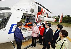 2004年4月26日、日本医科大学付属千葉北総病院