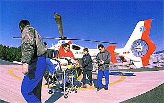 聖隷三方原病院で運用されているドクターヘリ