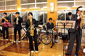 「筑波大学はらぺこバンド」高萩・愛生園で