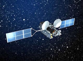 超高速インターネット衛星「きずな(WINDS)」 提供:宇宙航空研究開発機構(JAXA)