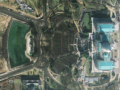 Satellite image courtesy of GeoEye