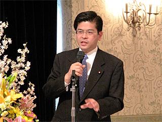 国経済対策を語る石井啓一衆議院議員