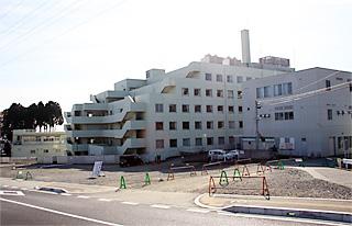 新病棟の建設予定地