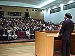 鹿行生涯学習センター開所式