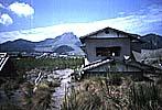 島原普賢岳災害視察