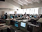 都立晴海総合高校のコンピュータ教室