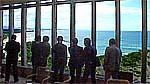 国民宿舎「鵜の岬」の視察